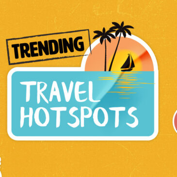 The most Googled post lockdown travel hotspots